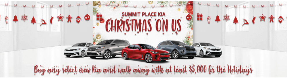 Summit Place Kia East Christmas on Us