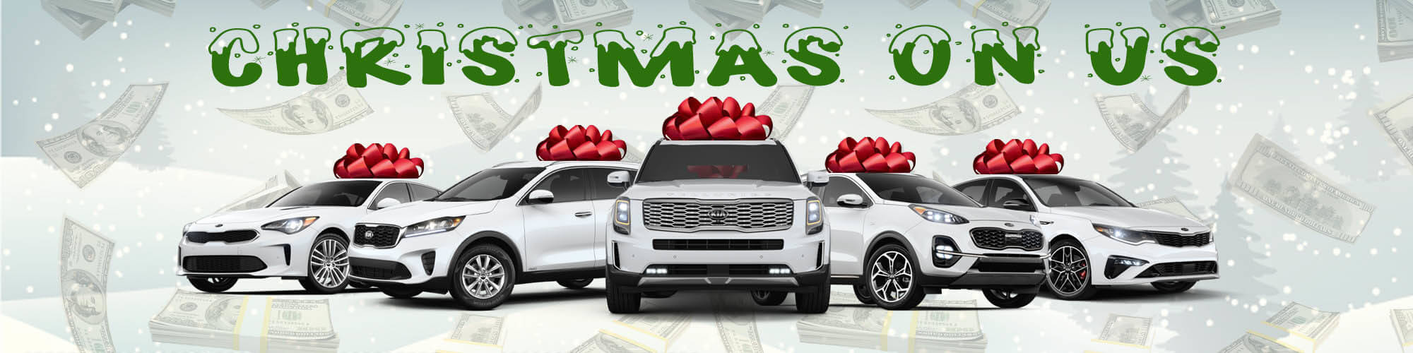 Christmas on Us Kia Sale