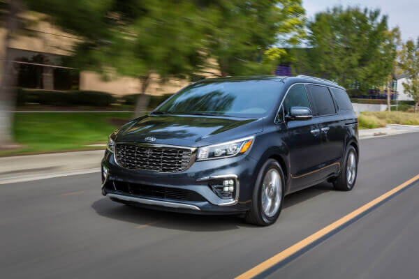 July 2020 Kia Sedona LX 3.3L V6 6 A/T Lease Deal
