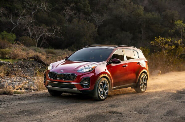 July 2020 New Sportage Specials