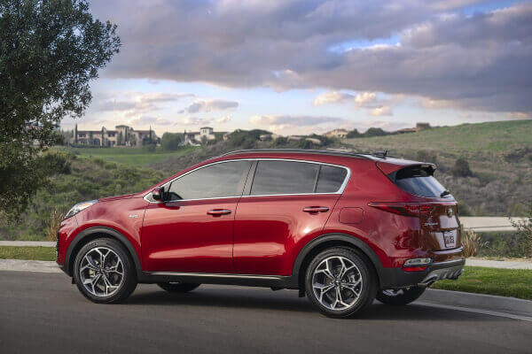 2020 Kia Sportage January 2020 Rebate