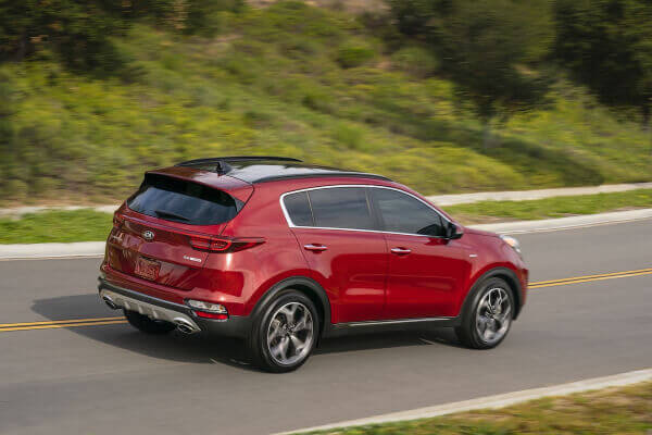 April 2020 - 2020 Kia Sportage LX Rebate