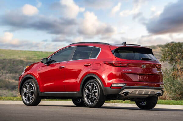 2020 Kia Sportage EX All-wheel Drive January 2020 Rebate